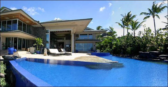 Tiger Woods' Home In Hawaii Design 2