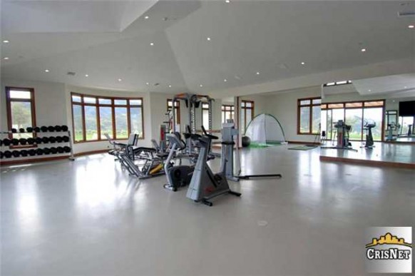 pete sampras personal gym