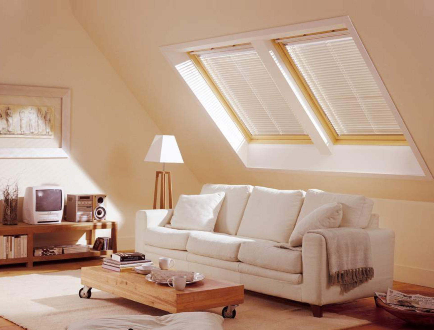 How to add light in your attic for Attic decoration