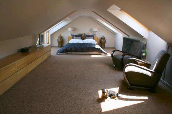 Cool Attic Spaces Design Ideas