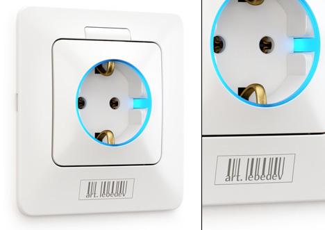 best white plug design