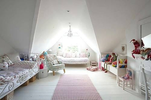 Attic Spaces Design For Minimalis Home