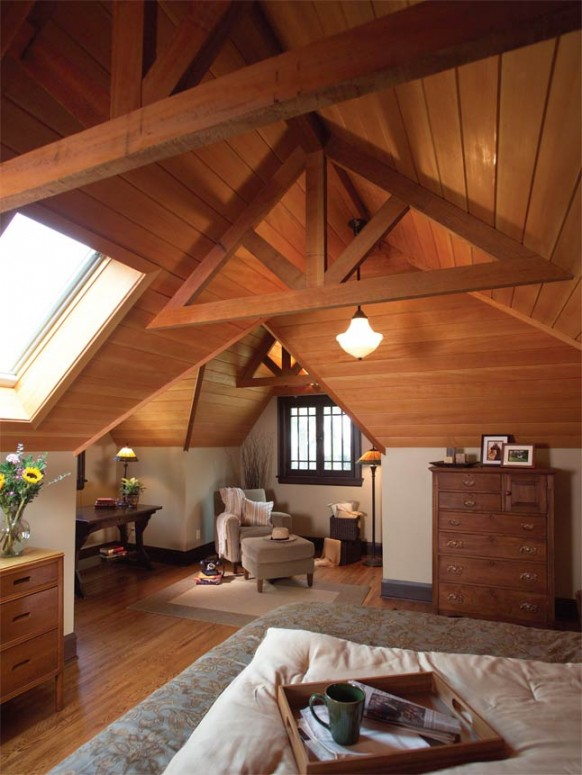 wonderful attic design ideas