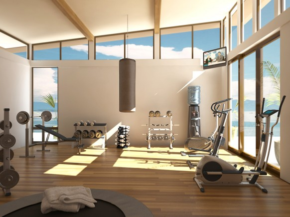 Design Inspiration and Design Tips of Home Gym