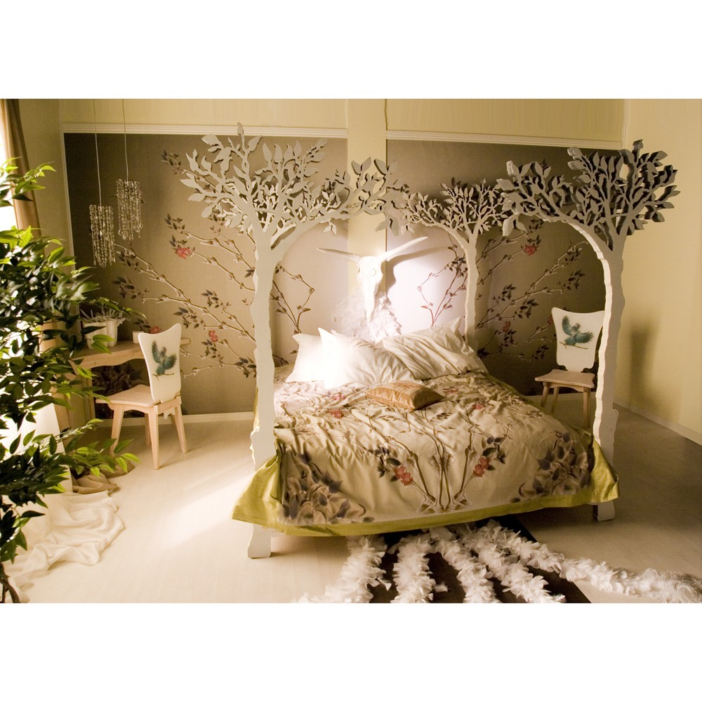Millionth universe nature themed bedroom for Unusual home decor ideas