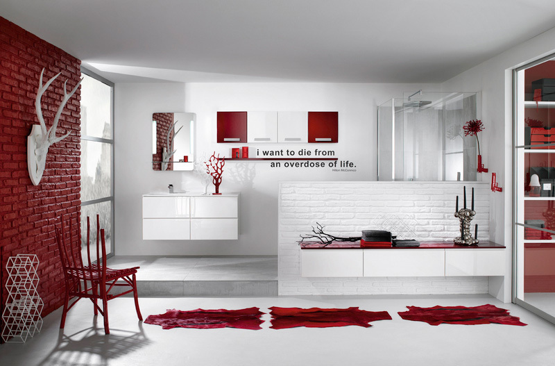 red and white delpha bathroom - ♥superb design bathroom♥