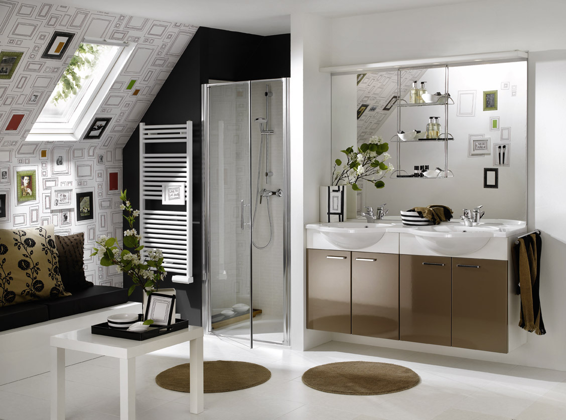 Super stylish bathrooms from delpha for Salle de bains moderne