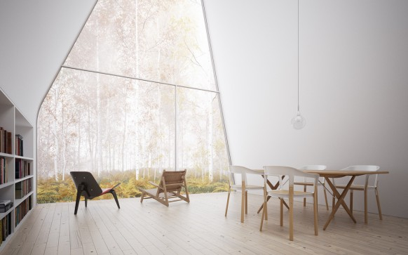 House Isn't  Your Typical Forest Cottage 2