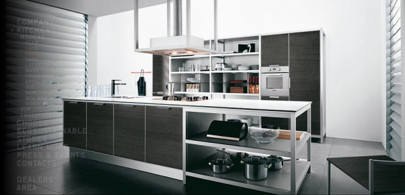 modern island kitchen