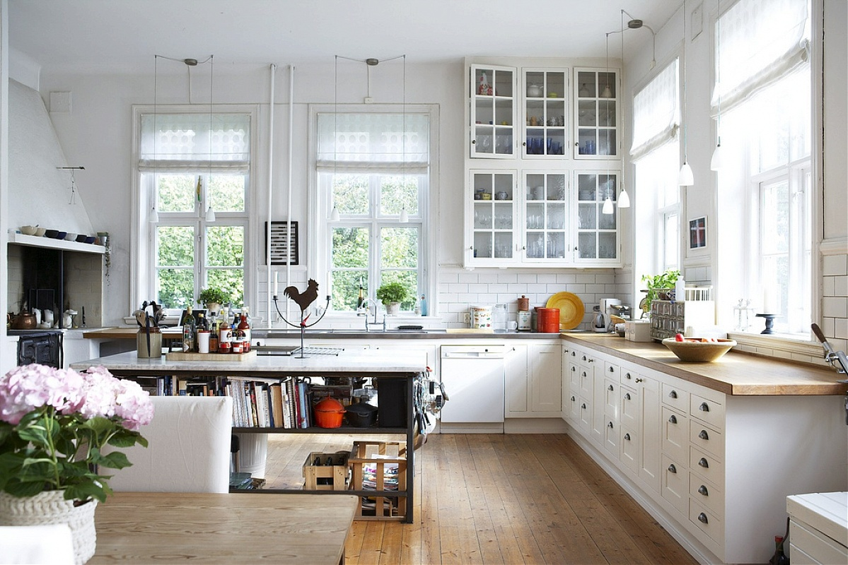 Beautiful scandinavian style interiors for Kitchen interior designs pictures