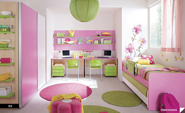 sweety: 21 beautiful children's rooms