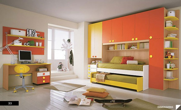 Beautifully designed child rooms design