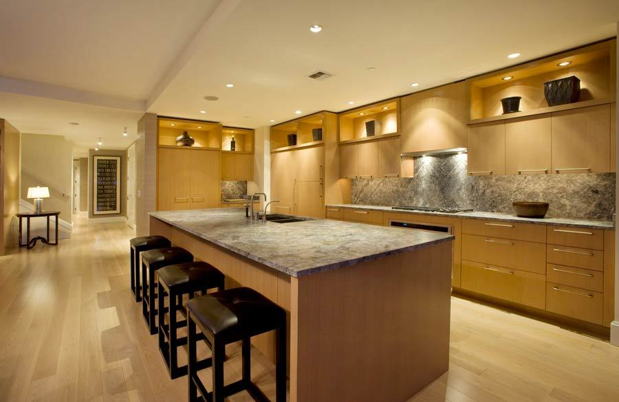 modern kitchen lights on Contemporary Kitchen Lighting