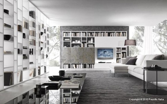 Functional living room spaces