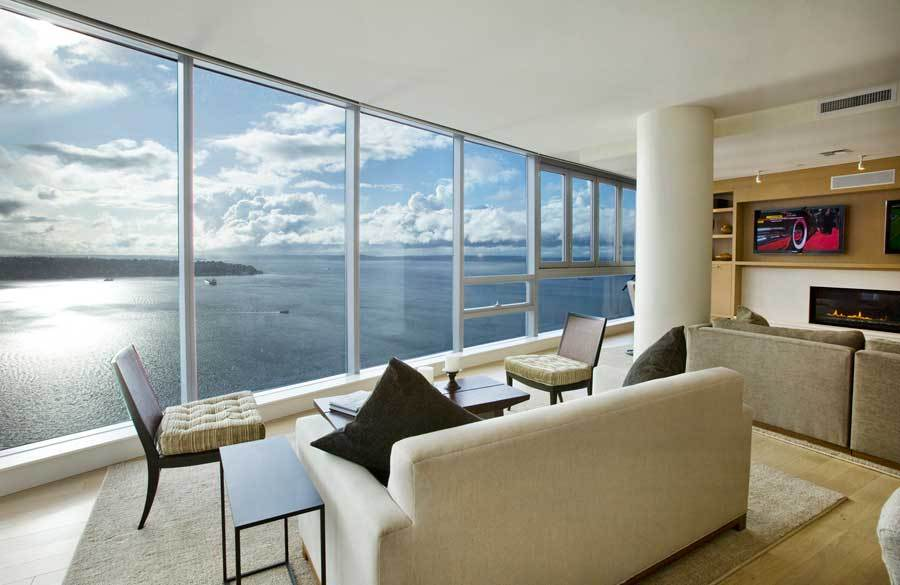 Seattle Penthouse With Panoramic Views To Die For