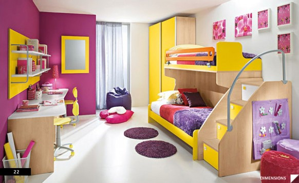 Purple-and-Yellow-Teen-Bedroom-582x356.jpg