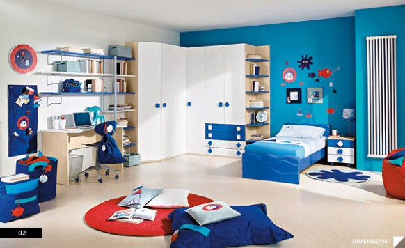 Create Nicely Child Room Design