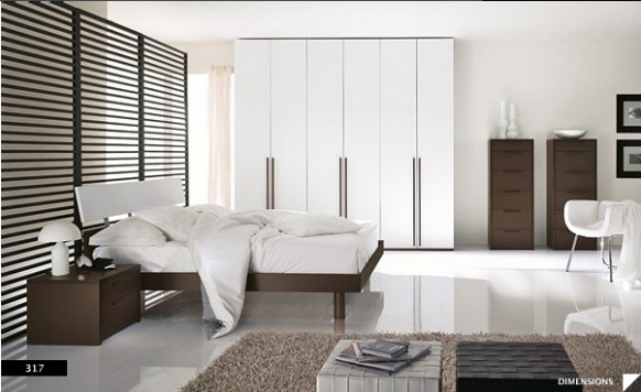 17 Strikingly Beautiful Modern Style Bedrooms and bedroom decorations