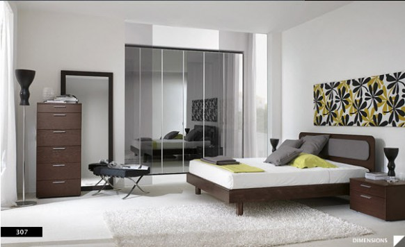 15 Strikingly Beautiful Modern Style Bedrooms