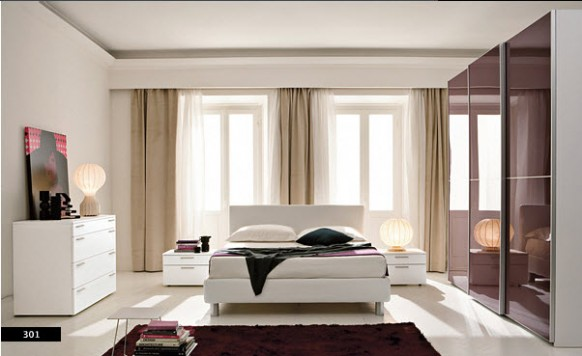 Beautiful Modern Style Bedrooms Design