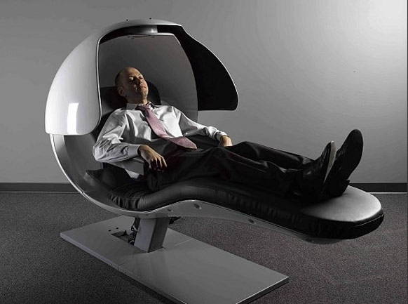 relaxing massage chair
