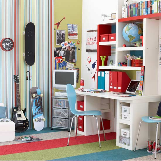 kids room decor themes and color schemes desk chair contemporary