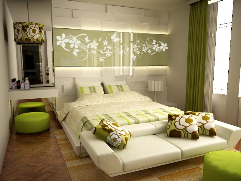 Impressive Green Bedroom Interior Design Ideas 800 x 600 · 76 kB · jpeg