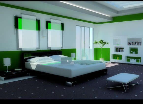 Choice Nice 16 Green Color Bedrooms Design