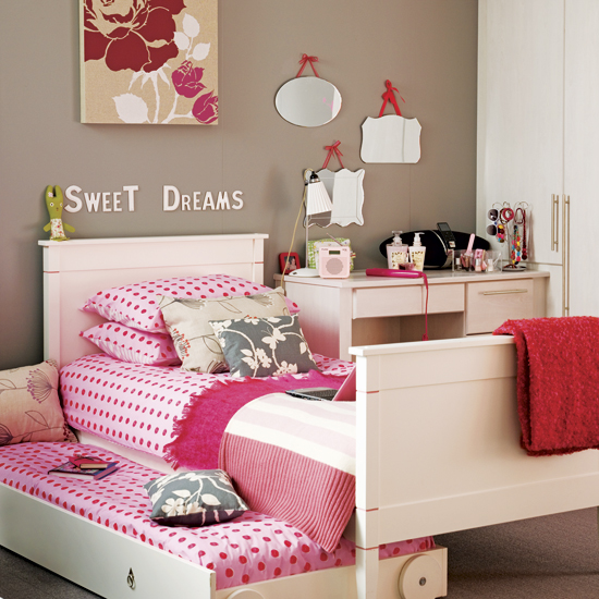 A variety of styles of room design for your girl and boys