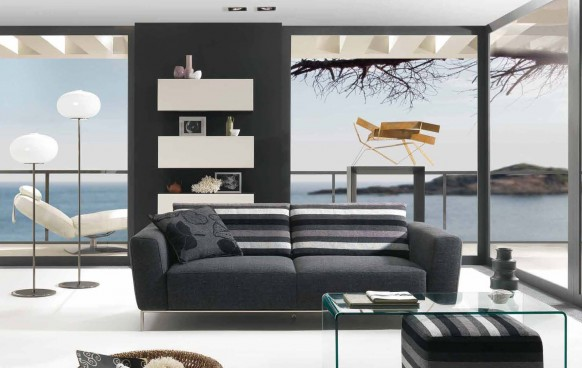 Unique And Elegant  Living Room Styles 2010 by Natuzzi
