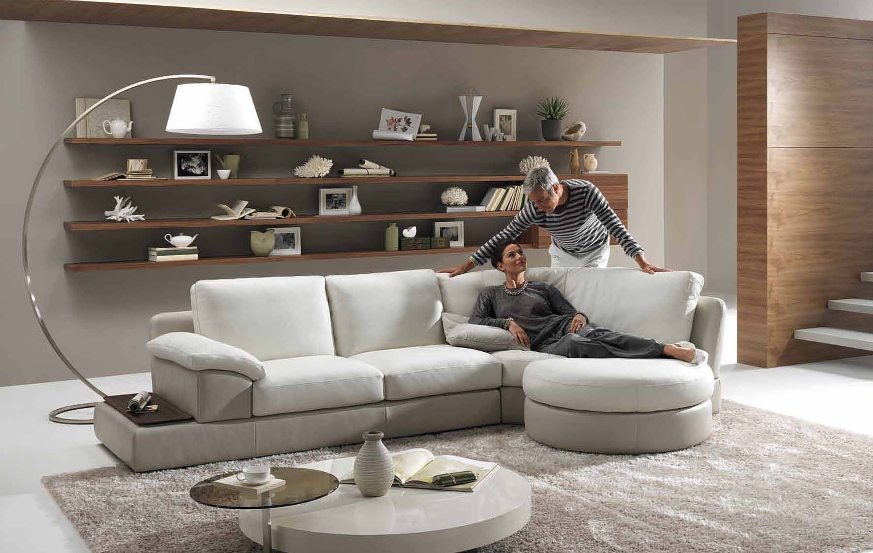 Home & Garden: Living Room Styles 2010 by Natuzzi: Interior Design Ideas
