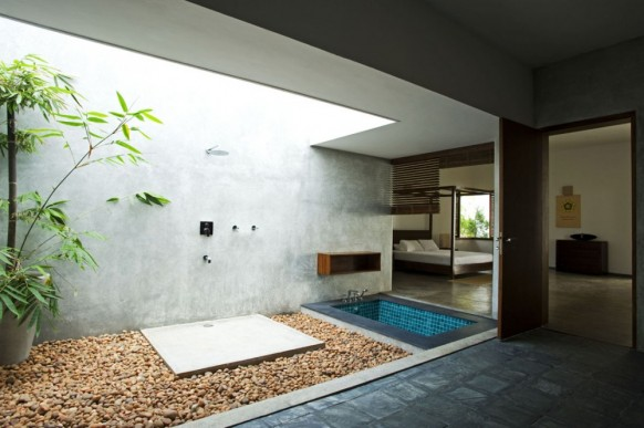 indoor tub open space