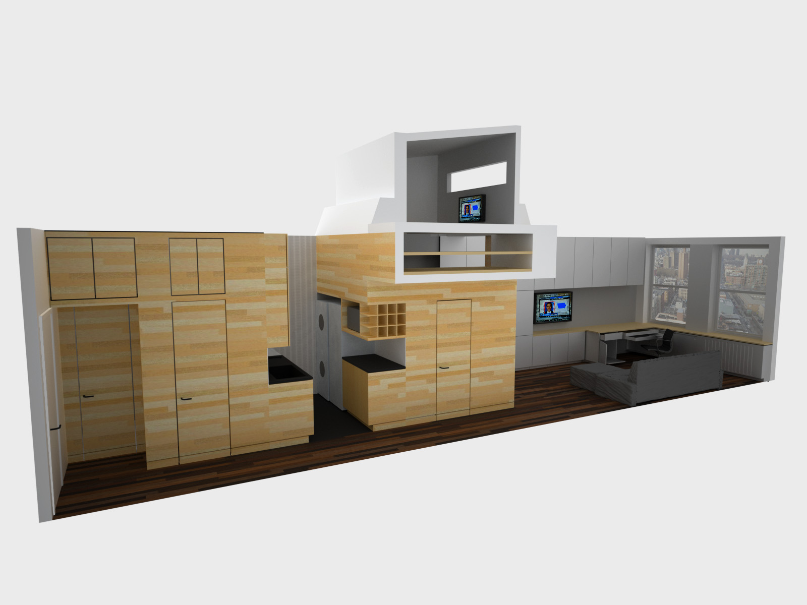 Tiny Home Designs: Space Saving Tiny Apartment, New York