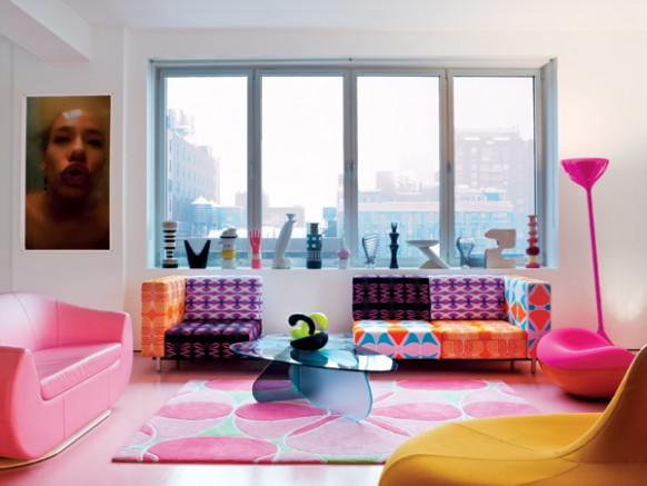 New Karim Rashid Apartment Interiors | NATURAL INTERIOR DESIGN 2010