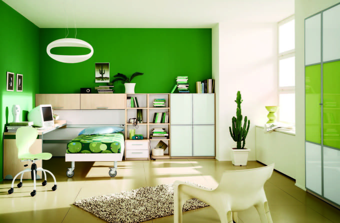 home sweet home: fabulous modern themed rooms for boys and girls