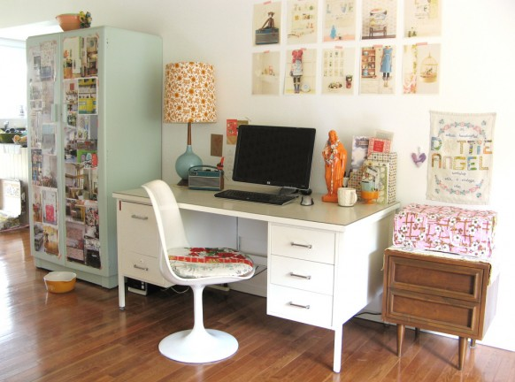 Some inspiring home offices | NATURAL INTERIOR DESIGN 2010