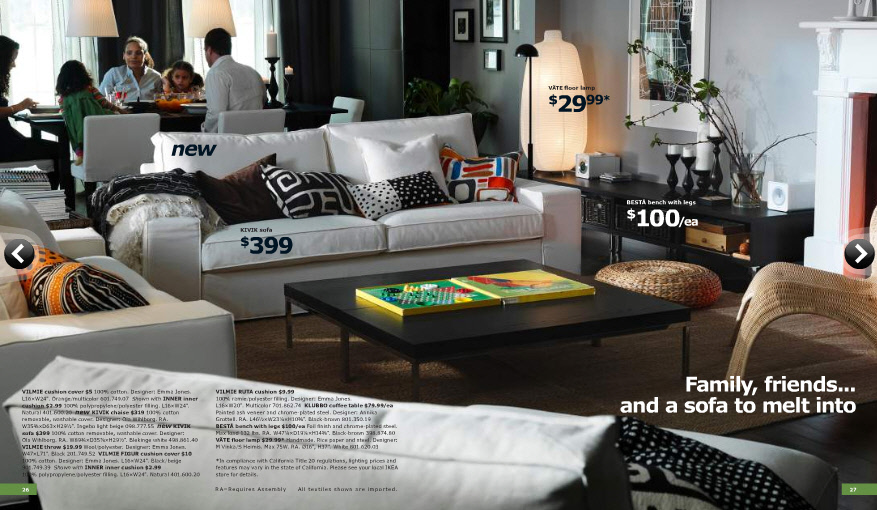 2011 ikea catalog design decoration