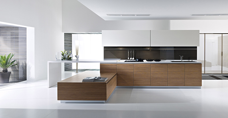 Beautiful modern kitchens afreakatheart for Simple modern kitchen cabinets