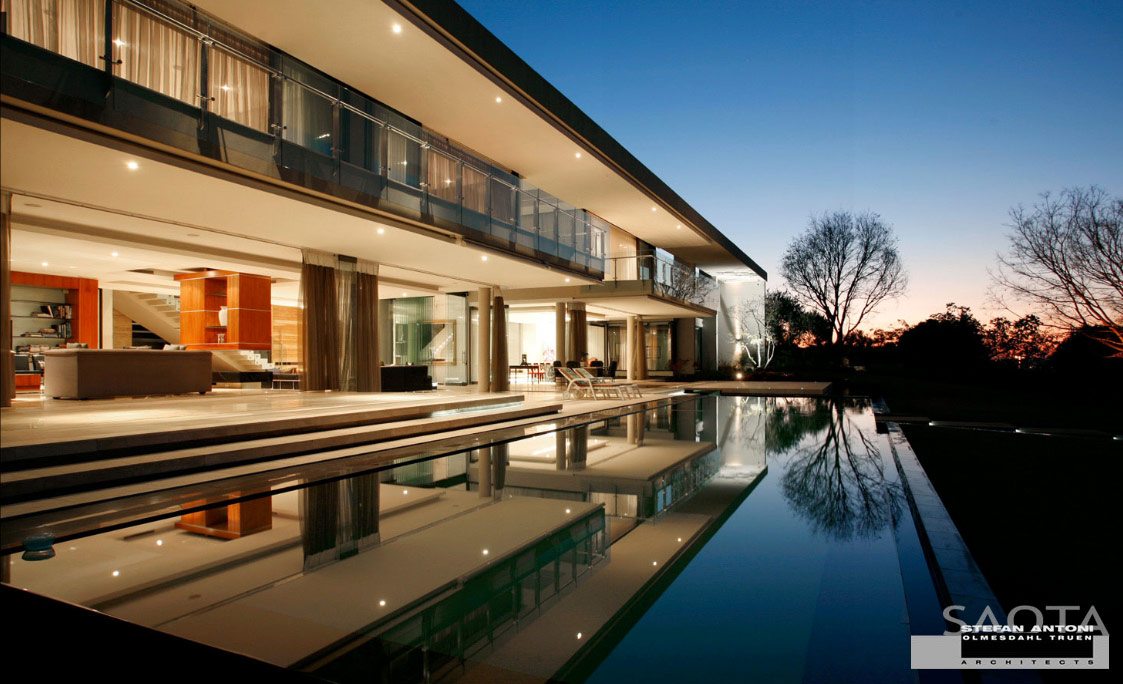 50 luxury oases that could tempt you into early retirement for Luxury modern home builders
