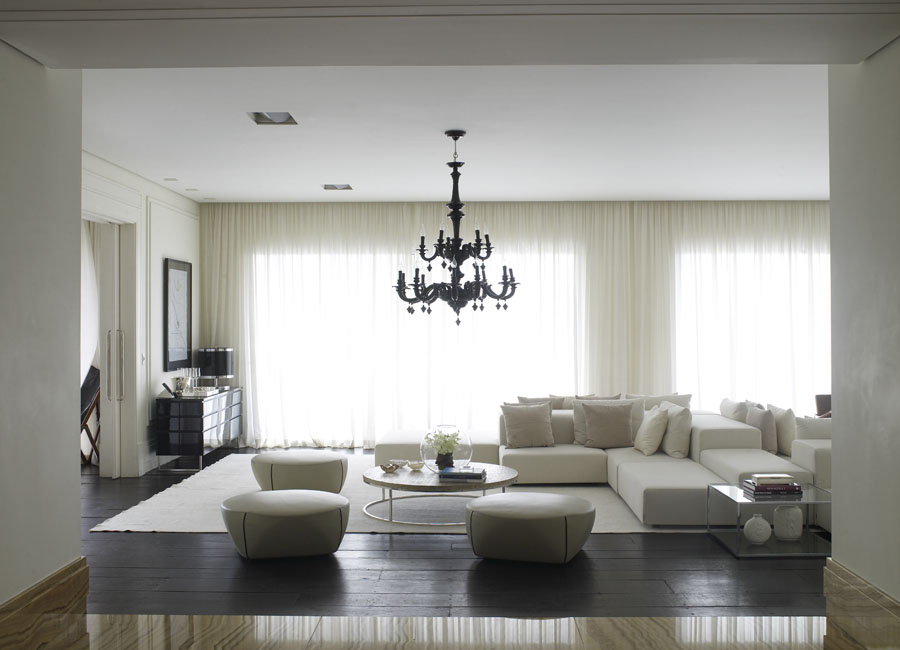 12 beautiful living rooms photographed by richard powers for Deco woonkamer moderne woonkamer