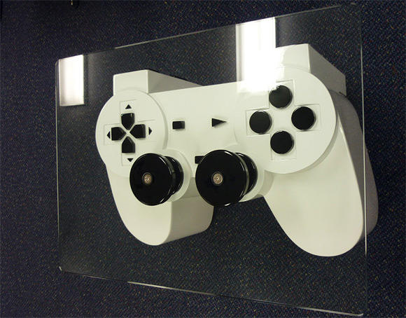 Playstation Controller Coffee Table - Strange Table Designs