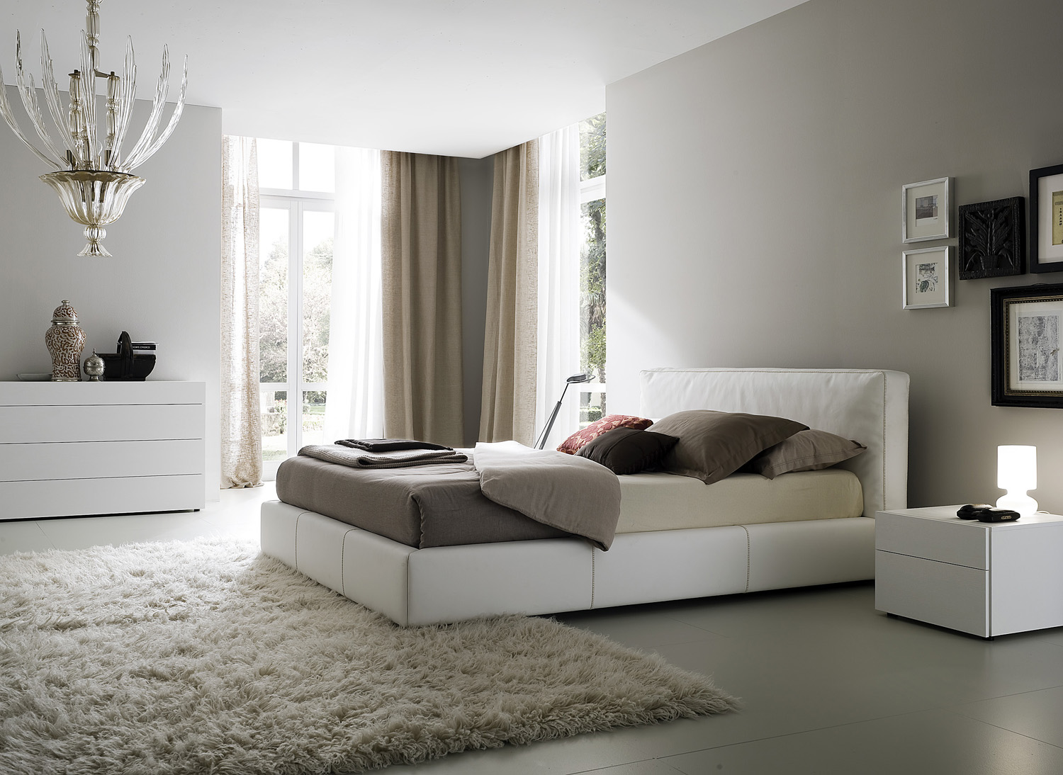 Bedroom decorating ideas from evinco for Easy bedroom ideas