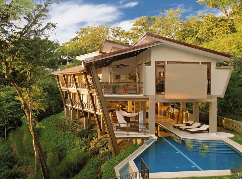 House Designs Luxury Homes Interior Design A Massive Vacation Home In The Jungles Of Costa