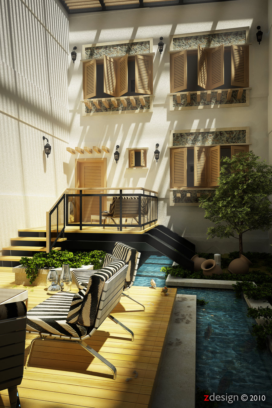 Courtyard design and landscaping ideas for Internal courtyard design ideas