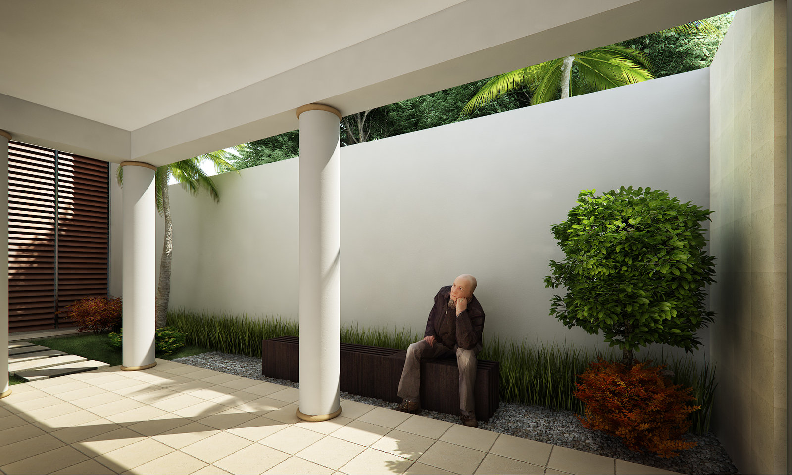 Home & Garden: Courtyard Design And Landscaping Ideas