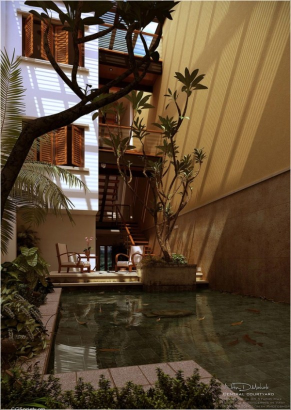 [تصویر:  Italian-Style-Courtyard-design-with-pool-582x820.jpg]