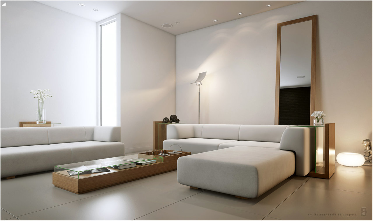 living room artificial light by ferdaviola - Unique Mood-Enhancing Living Rooms