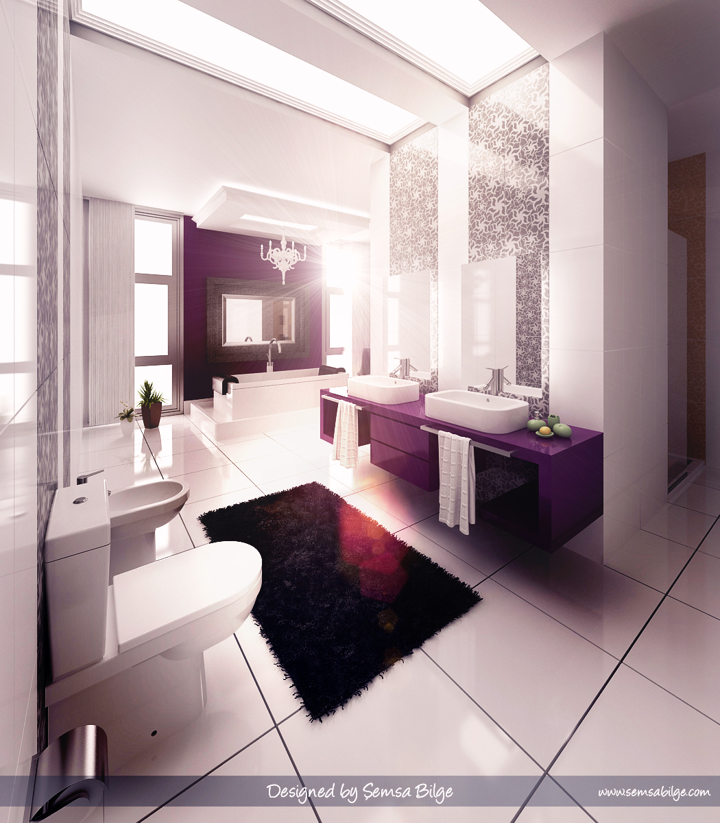 bathroom design modern inspiring house | Inspiring Bathroom Designs for the Soul