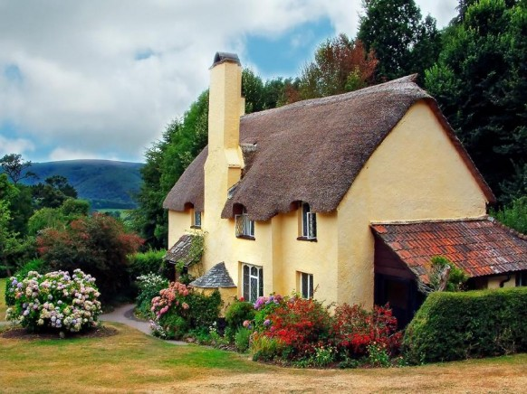 Gingerbread cottage house beautiful landscape 582x436 - Dabbang Cottages hain yaar...!!!