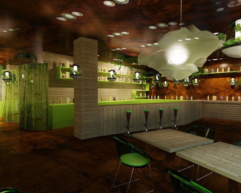My Dream House Bar And Restaurant Design Concepts